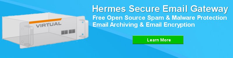 Hermes Secure Email Gateway - Free Open Source Unified Secure Email Gateway